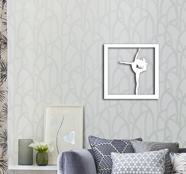 """Obraz drewniany """"Balet"""" - dekor8 - Ozdoby na ścianę"""