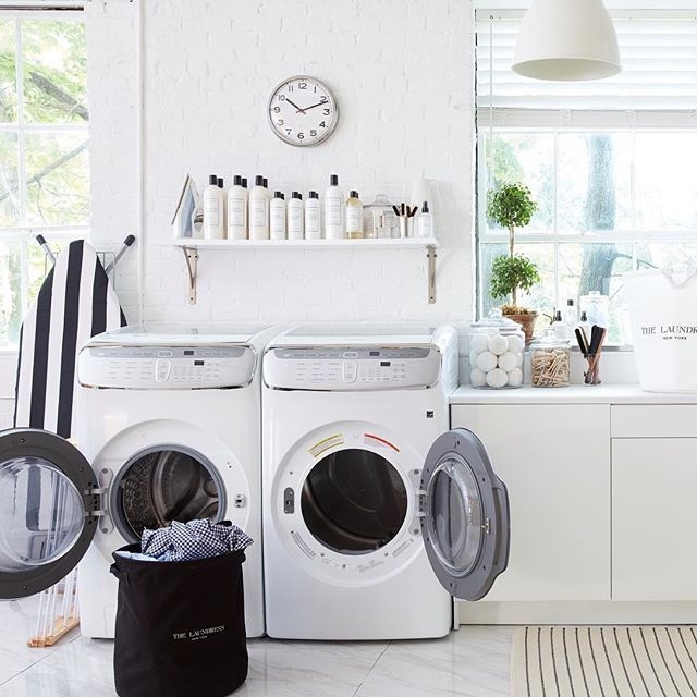By Keeping A Neat And Organized Laundry Room One Of The Most