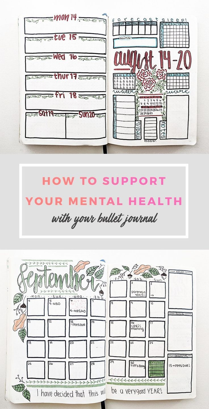 How I Use My Bullet Journal for Mental Health as a College Student