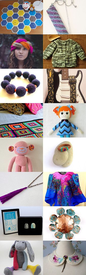 Colores del Sur del Mundo, Chile by Francisca Troncoso Paredes on Etsy-