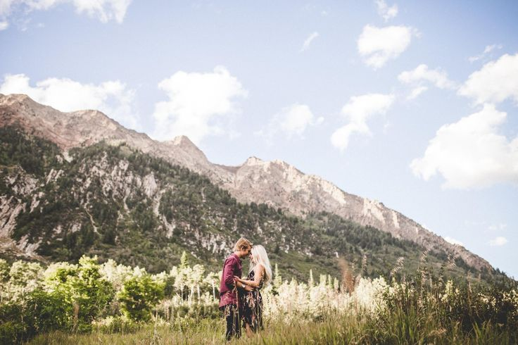 Aspyn Ovard + Parker Ferris: Their engagement photos are AMAZING! I am SO in love with their pictures, and when the time comes I hope we are able to take ours in a similar setting. WOW!