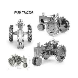 Voiture - Camion Tracteur agricole Vintage 3D Puzzle Jouet Objet de