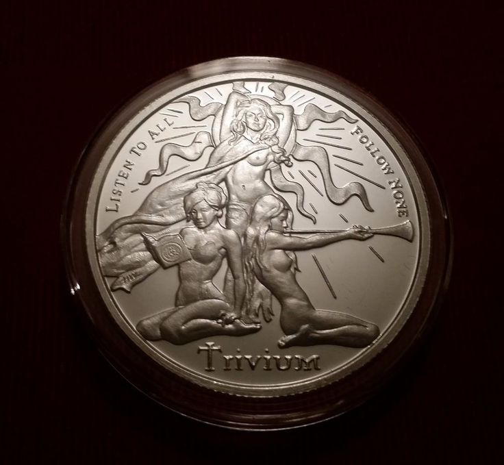 2015 Silver Shield Trivium Girls 1 Oz Proof Silver Round .999 With COA | eBay