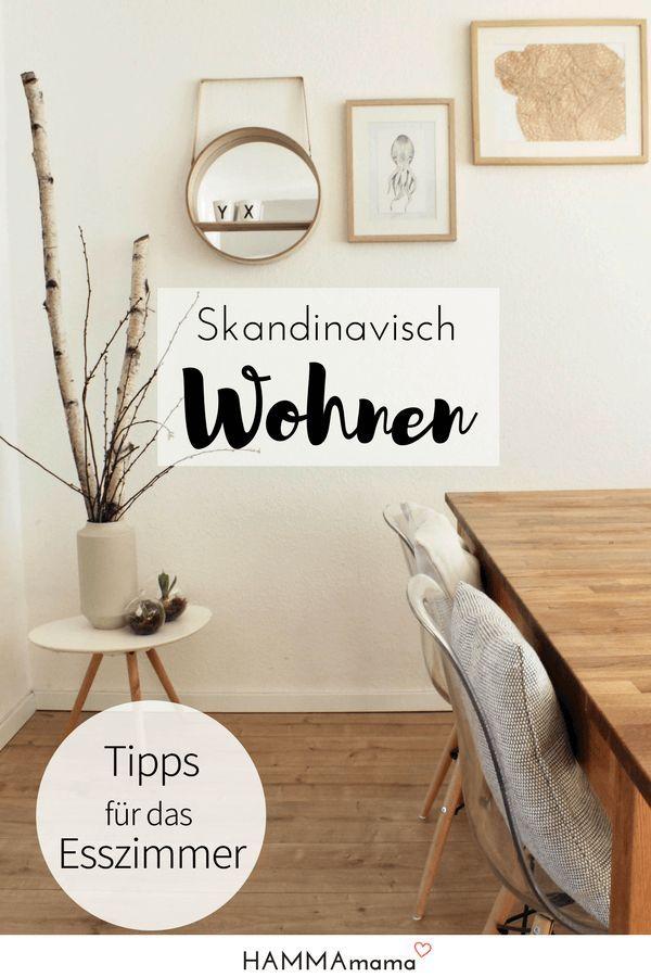 Mein skandinavischer Wohnstil ° Das Esszimmer und ein paar Tipps zum Thema Wohnen #Esszimmer