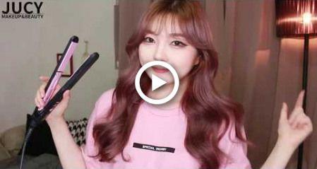 Korean-style hair (How to curl hair like Korean Idols)