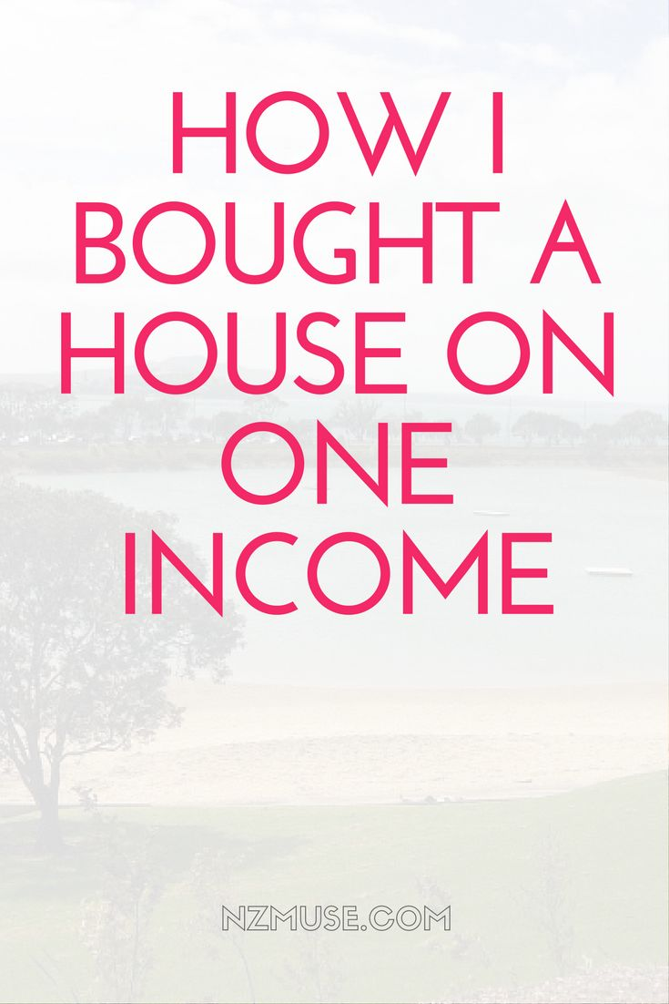 Struggling to buy a house on a single income? This is how I bought a house on one income alone as a first time buyer.
