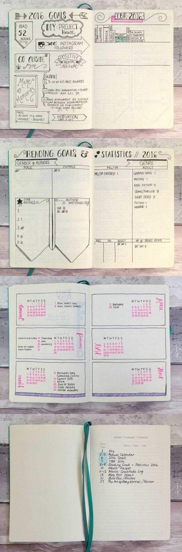 Inspiraçãp para o seu bullet journal