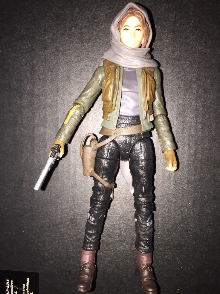 Up for auction is a Star Wars Jyn Erso. You will get what is pictured. Please message me with questions. #action #figure #hasbro #disney #series #black #star #wars #rogue #erso