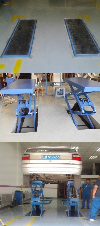 Brand New Inground Vehicles Car Hydraulic Scissor Lift