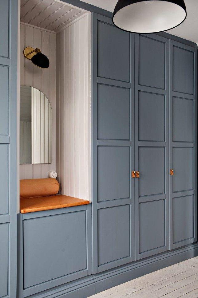 A Stylish Scandinavian Home With Cozy Nooks The Nordroom Bedroom Built In Wardrobe Wardrobe Design Bedroom Bedroom Closet Design