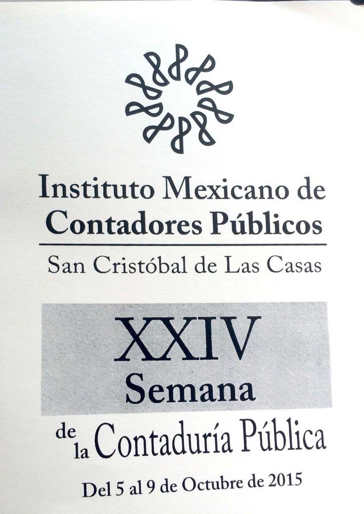 Un gusto haber compartido el tema en el Colegio de Contadores Públicos de San Cristóbal de las Casas