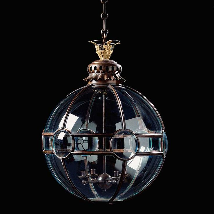 Jamb's magical globe lanterns are inspired by its experience of dealing in fine antique lighting