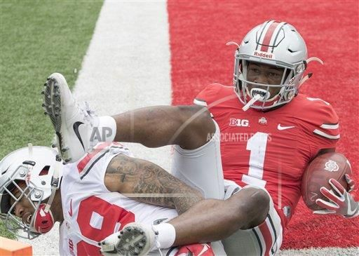 COLLEGE FOOTBALL: APR 15 Ohio State Spring Game