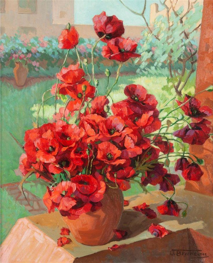Цветочное... Odette Bruneau (French, 1891 - 1984). Обсуждение на LiveInternet - Российский Сервис Онлайн-Дневников