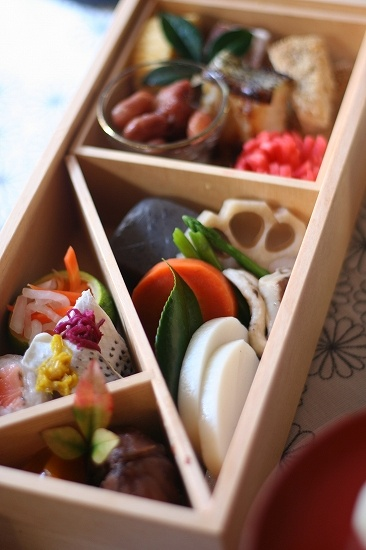 New Year's Bento Box (Japanese Osechi-Style)|おせち弁当