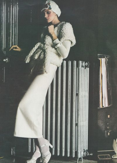 Sonia Rykel by Helmut Newton for Vogue 1972
