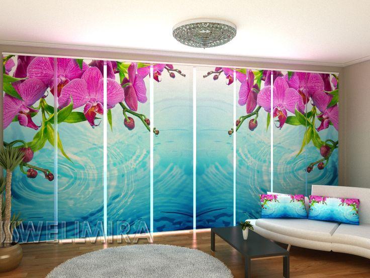 Set of 8 Panel Curtains Amazing Orchid  #Wellmira #ModernCurtains #PanelCurtains #Curtains #JapaneseCurtains #Fotogardine #Schiebevorhang #Flächenvorhang #Schiebegardine #Orchid https://wellmira.com/collections/sets-of-8-panel-curtains/products/set-of-8-panel-curtains-amazing-orchid?variant=25749998855