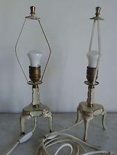 coppia di lampade  abatjour  antiche