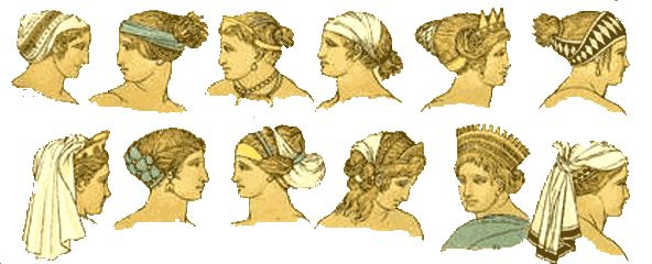 ancient greek hairstyles for women.