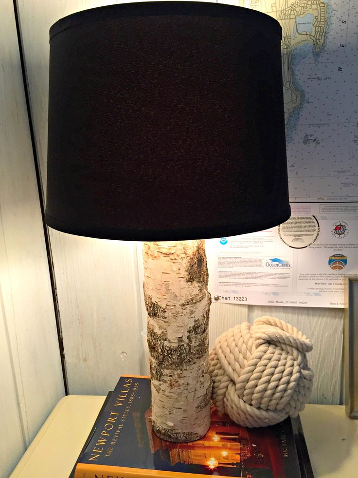 How to make a birch lamp!