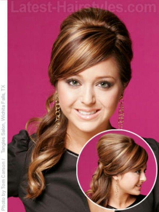 Quinceanera Hairstyles On The Side : Side hairdos for long hair hair style and color woman