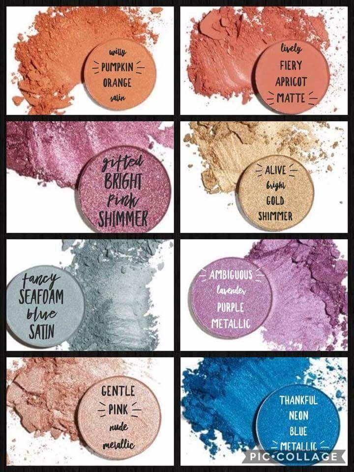 New Colors ##younique  #pressedeyeshadows