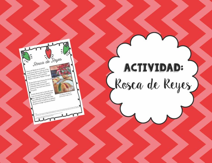 This activity introduces students to the cultural significance of Rosca de Reyes! A mini-handout about the food and its origins begins the activity. Students are then given a recipe for making Rosca de Reyes. On their handout, they are tasked with identifying which ingredients they need to buy from the store to make the recipe.   A simpler English-based and more advanced Spanish-based version of the activity are included