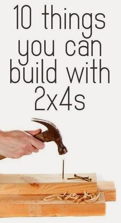 Best DIY Projects: 10 things you can build with 2x4s