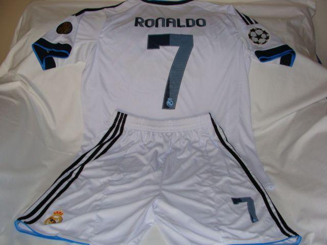 ... 7 CRISTIANO RONALDO Real Madrid Spanish La Liga Striker 2012-13  Champions League and 110th ... 3c11b086880f5