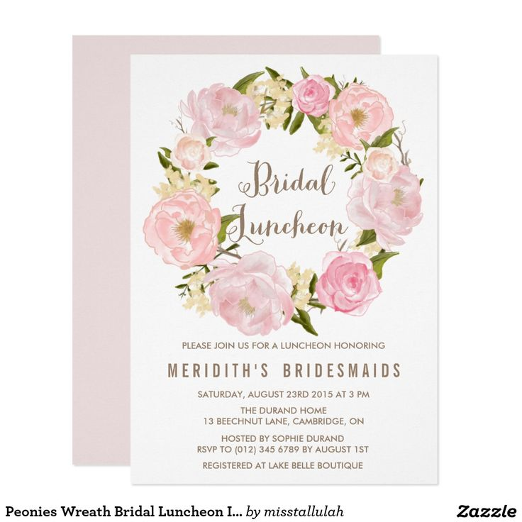 25 best ideas about bridal luncheon on pinterest bridal for Wedding brunch invitations