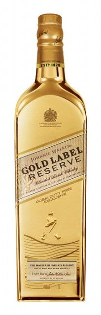 Johnnie-Walker Gold. What I want for my birthday