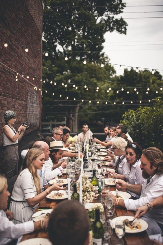 a rooftop dinner with MasterChef Season 5 Competitors Elizabeth Cauvel + Dan Wu | offbeat + inspired