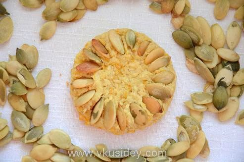 Тыквенное печенье - www.vkusidey.com