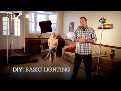 DIY: Make Your Own Basic Lighting Kit at Home