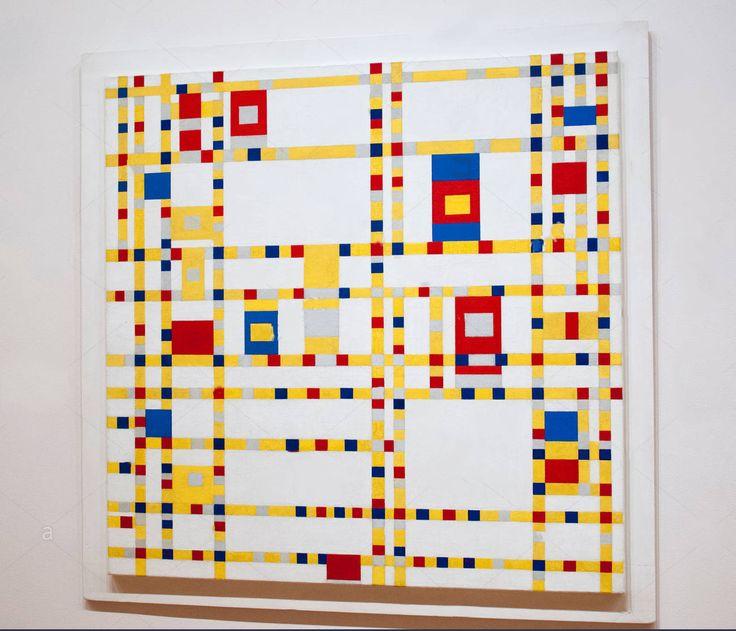 """""""A intuição ilumina e com isso se liga ao pensamento puro. Juntos eles se tornam uma inteligência que não é simplesmente do cérebro, que não calcula, mas que pensa e sente.""""  Piet Mondrian   Pintor holandês modernista. Criou o movimento artístico neoplasticismo e colaborou com a revista De Stijl e depois com as formas da pintura concreta.  Broadway Boogie Woogie (1943) de Piet Mondrian no Museu de Arte Moderna de Nova York"""