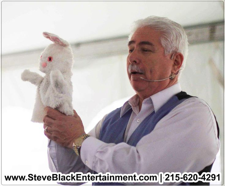 HIRE Magician Steve Black for your Company Anniversary He is a professional party magician in Bucks County, PA CALL (215) 620-4291 for bookings and inquiries!