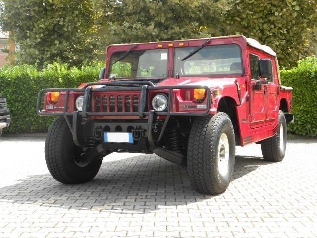 Hummer H1 TT4 Open Top a 38.500 Euro   Fuoristrada   64.000 km   Diesel   125 Kw (170 Cv)   06/2000