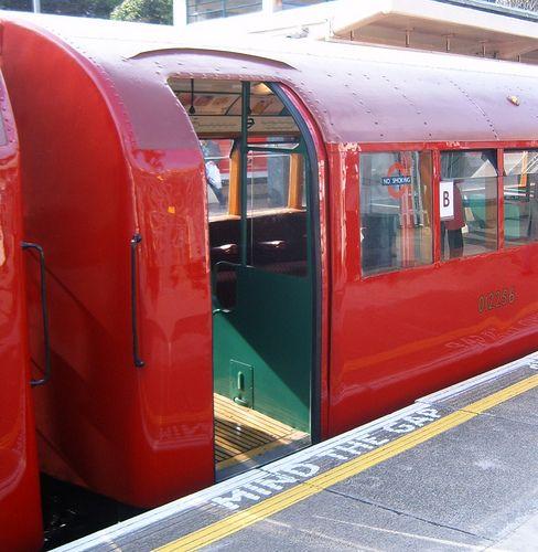 TUBE TRAIN | LONDON | ENGLAND: *London Underground: London Transport 1938 D Stock, number 02256*