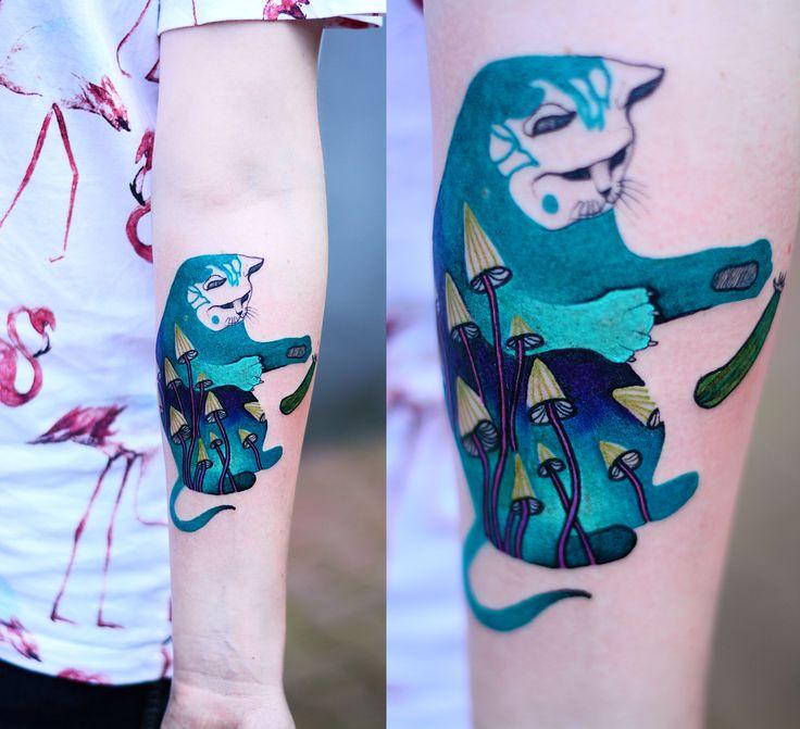 #tattoo #tatuaz #tattoowork #project #design #ink #inked #graphic #tattuaggio #btattooing #tattuaje #illustration #татуировка #тату #krakow #berlin #wroclaw #warszawa #prague #praha #tetovani #tätowierung #tatuajes #dzolama #dzo #lama #owl