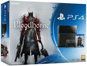 PS4 + Bloodborne Questo bundle include: - PS4 500GB - un controller DS4 Jet Black - Bloodborne   Playstation 4 Il sistema PlayStation®4 ti consente di giocare al massimo, grazie a giochi dinamici e connessi, grafica e velocità di prim'ordine, personalizzazione intelligente e funzionalità social estremamente integrate.
