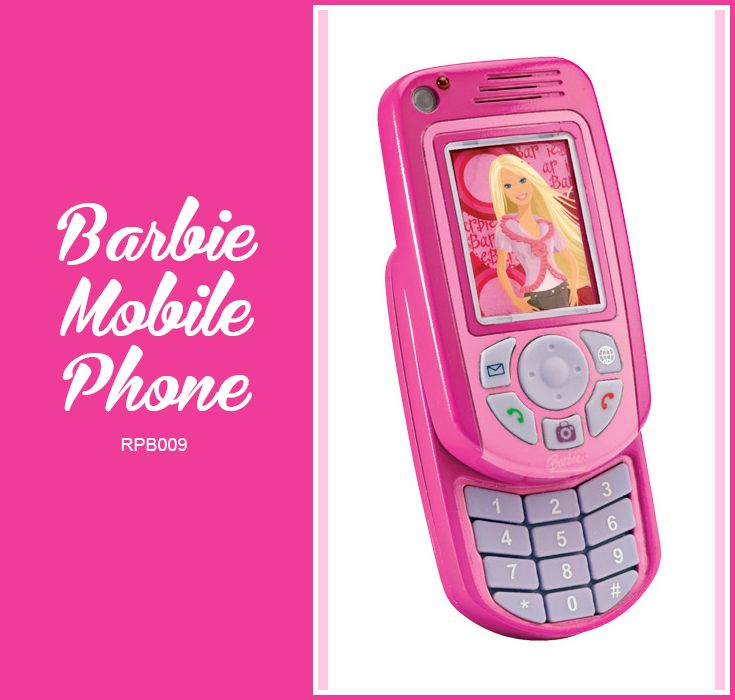 Barbie mobile phone lexibook for children stuff to - Telephone barbie ...
