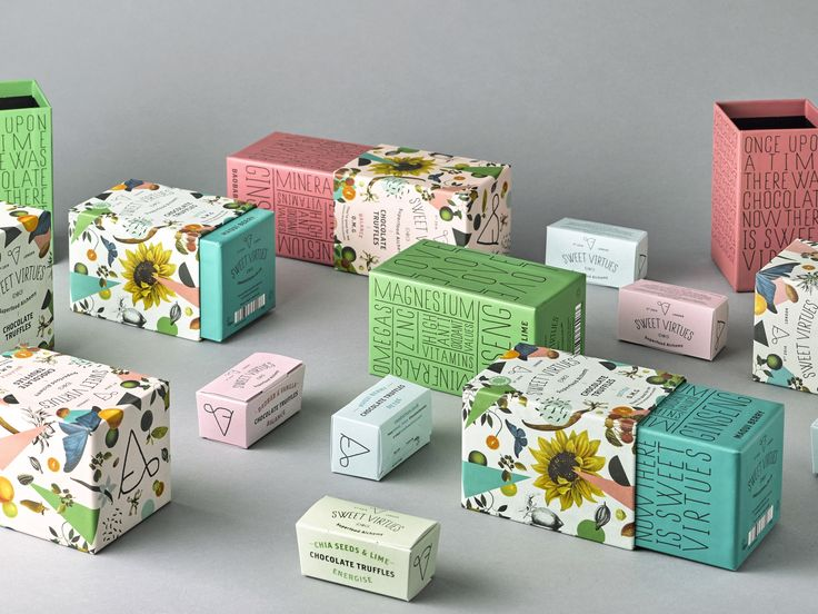 sweet virtues boxes by iwant design