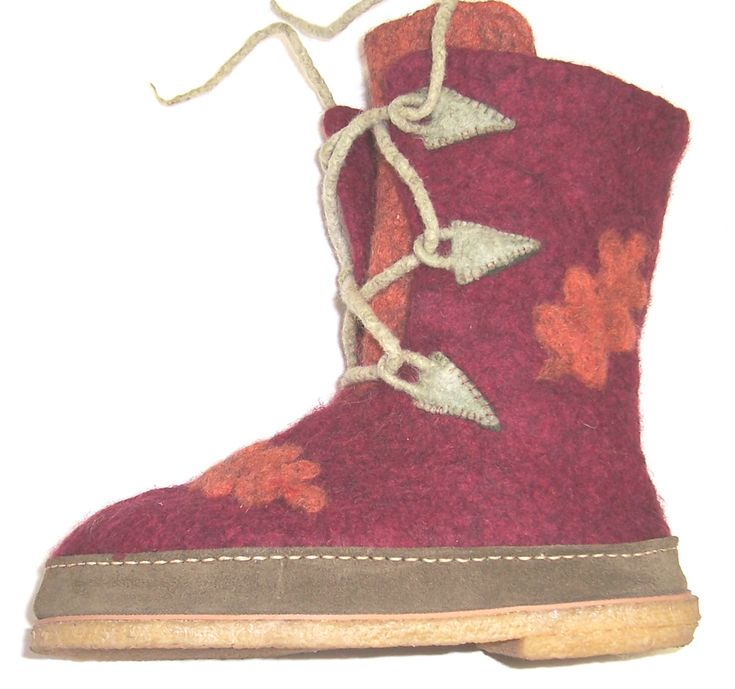 felted boot knitting pattern | Felt Boot Online Workshop