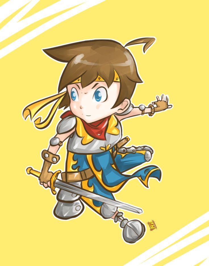 little knight by Mastoy