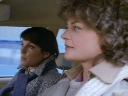 Meg Foster and Tyne Daly in Cagney & Lacey (1981)