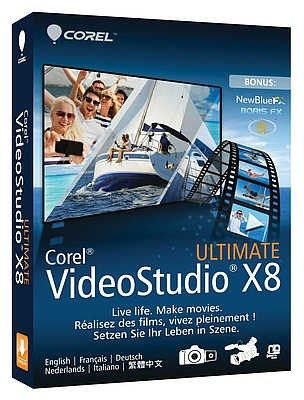 Corel Videostudio Pro X8 Crack with Patch Free Download