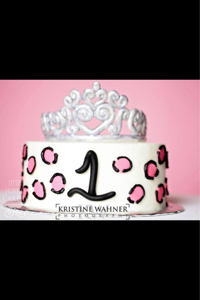 First Birthday Tiara Cake