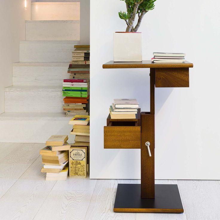 Nuit ett platsbesparande kaffebord i trä, ett modernt vardagsrumsbord kan…