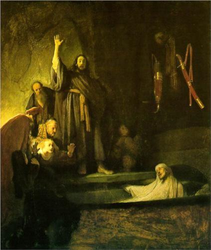 The Raising of Lazarus - Rembrandt - 1630