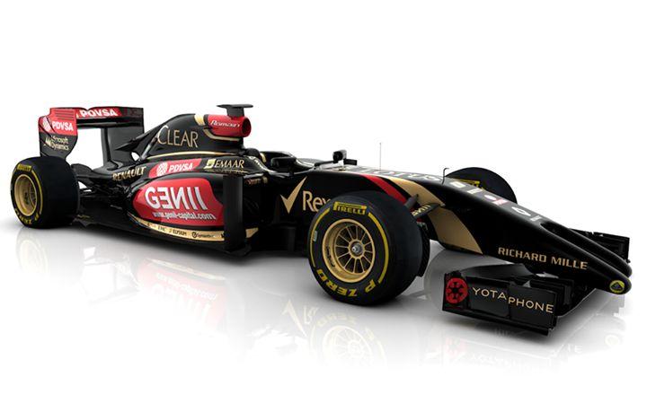 Lotus E22 for the 2014 season